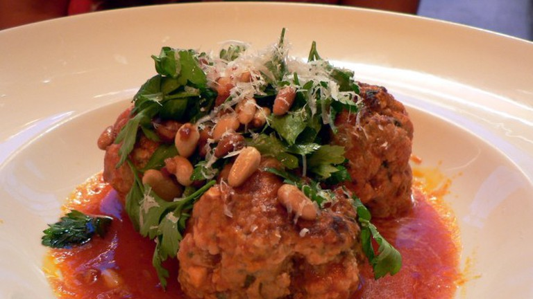 Meatballs in a Smokey Chipotle Sauce