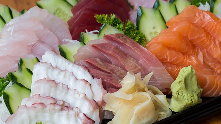 Fresh Sashimi|