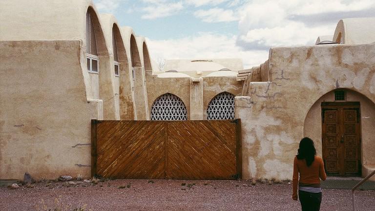 Hassan Fathy Dar-Ul-Islam Mosque – New Mexico