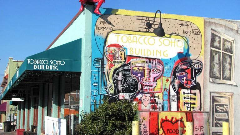 Downtown Art district in Downtown Winston-Salem