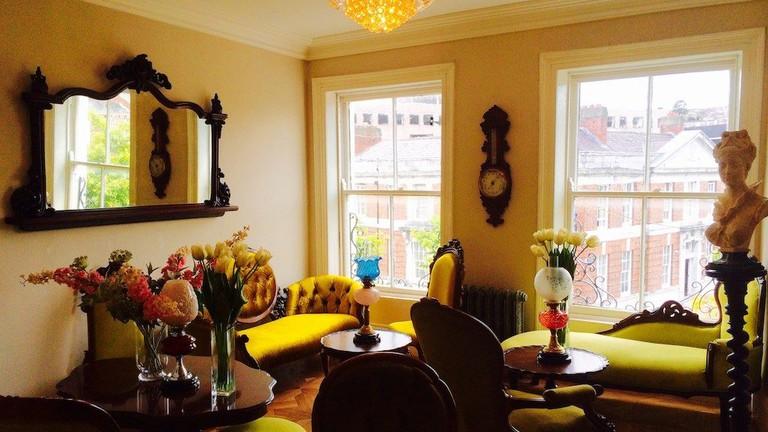 Tearoom at Brocade and Lime