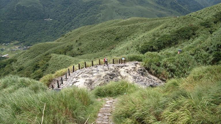 Hiking in Yangmingshan