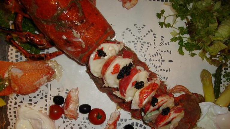 Flavio's speciality lobster