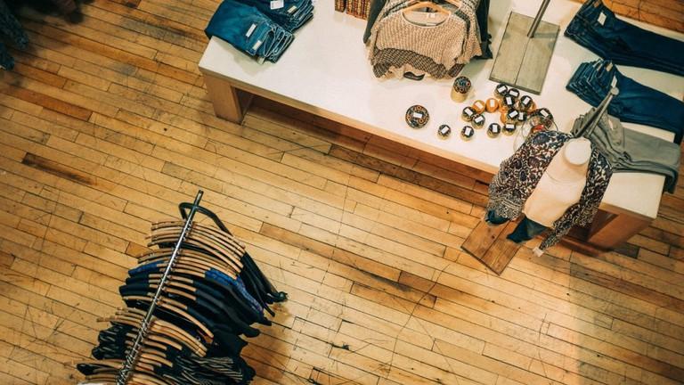 Boutique Clothing Shop