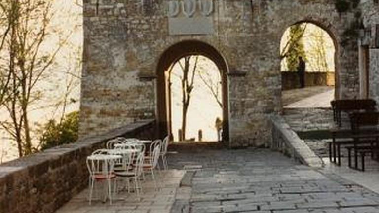Modovun city gate