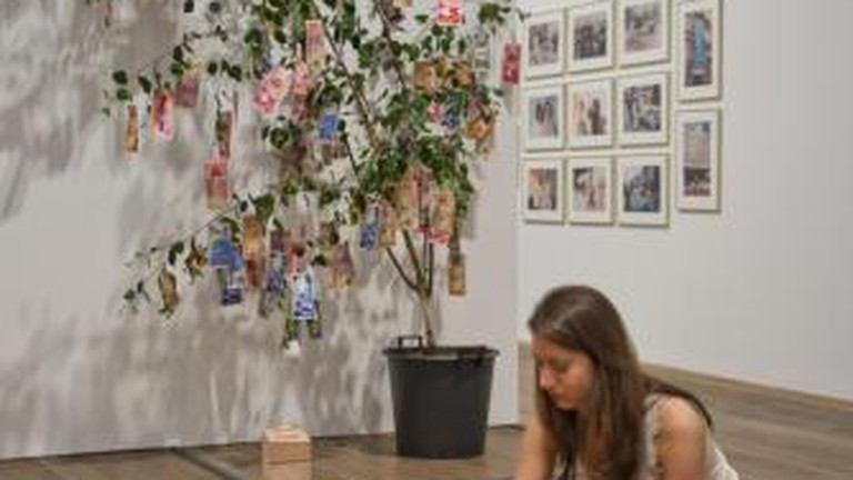 The Architecture Room and Money Tree at Museum of Contemporary African Art, The Tate Modern