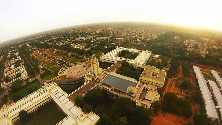 Aerial View of BITS Pilani
