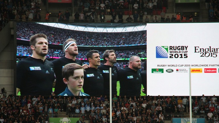The All Blacks at the 2015 Rugby World Cup