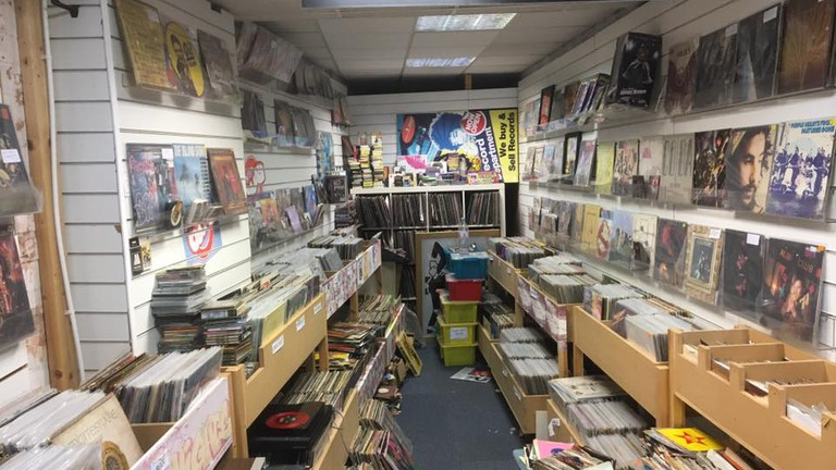 Entertainment World's record section