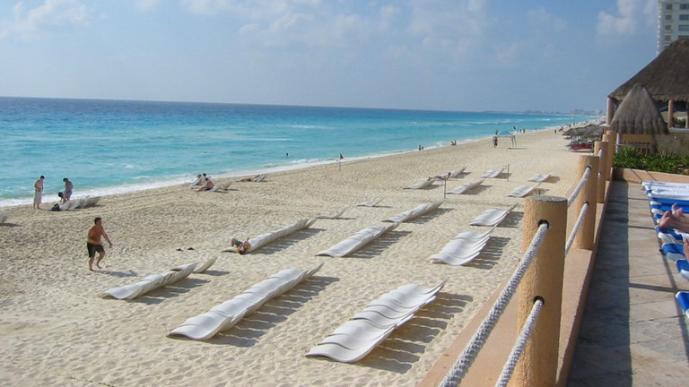 Miles of Beach chairs