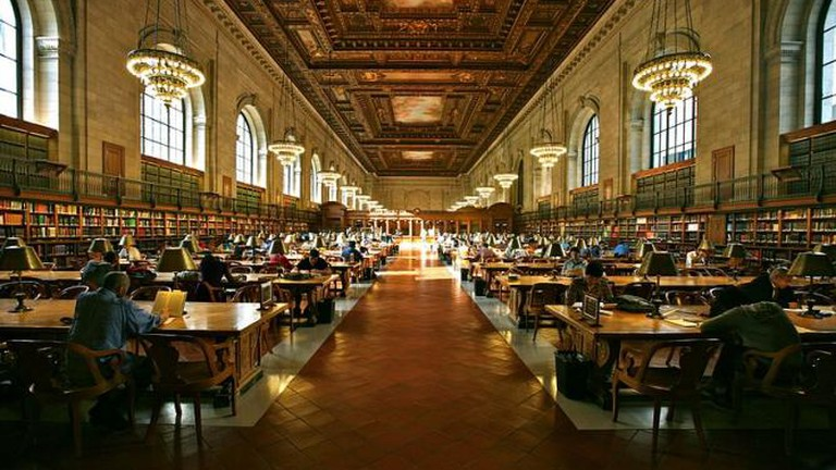 Grand Study Hall, New York Public Library