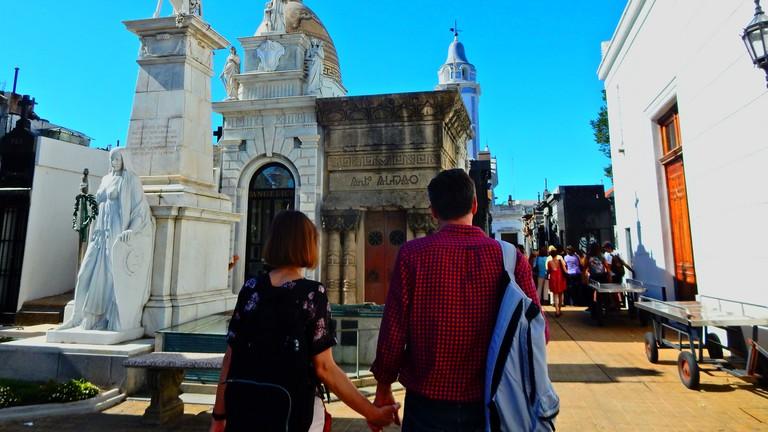 Take a romantic stroll around the Recoleta cemetery, near the Hub Porteno hotel