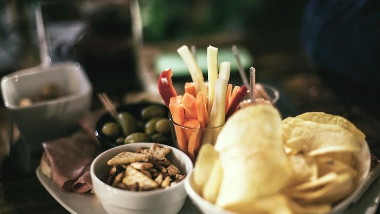 Bar snacks