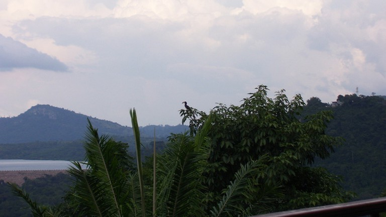 Views of the lake from Volta hotel