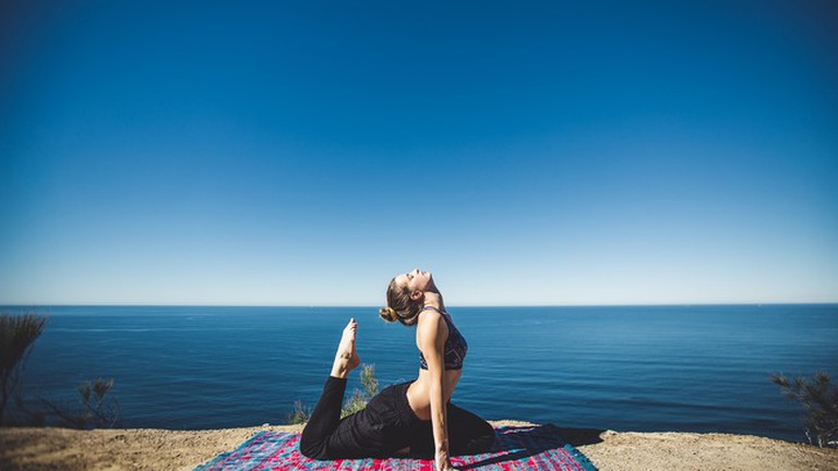 Practise your yoga by the sea in Marbella