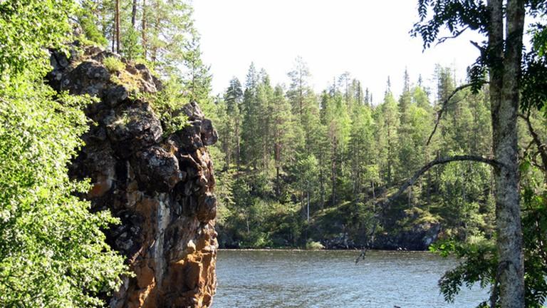 Small Bear Trail in Oulanka National Park