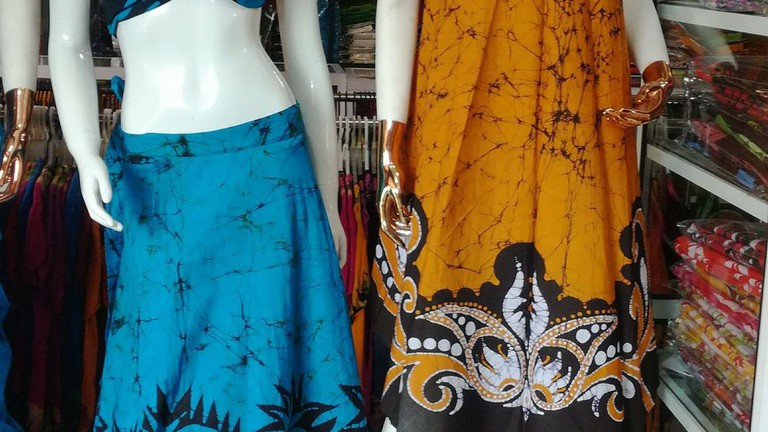 All sorts of designs at The Roma Batik