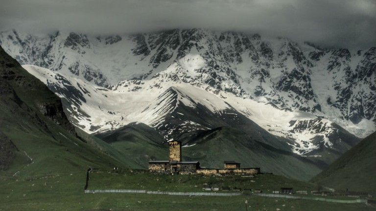 Lamaria Church in Ushguli