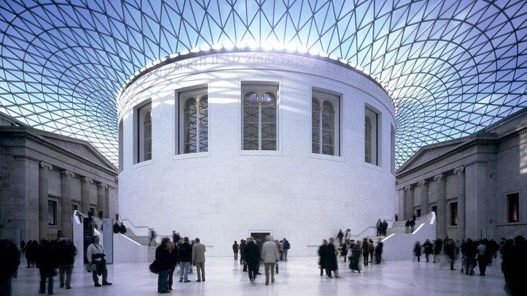 Great Court at the British Museum