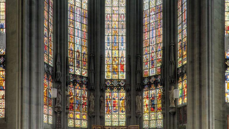 Windows at St Maria zur Wiese, Soest, Germany