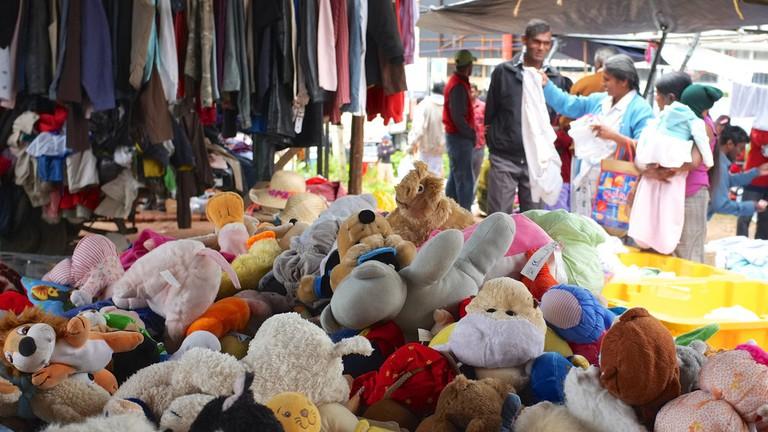 Winter Market in Nuwara Eliya