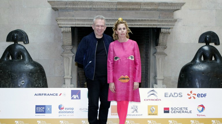 Agatha Ruiz de la Prada and Jean-Paul Gaultier