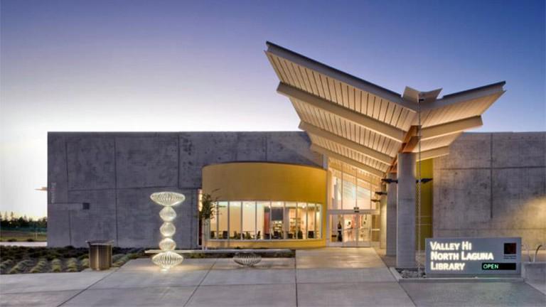 Valley Hi-North Laguna Library, Sacramento