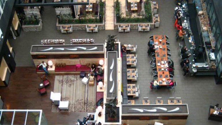 Overhead view of Urban Farmer