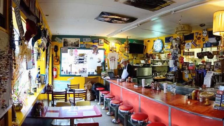 Rick's White Light Diner Interior