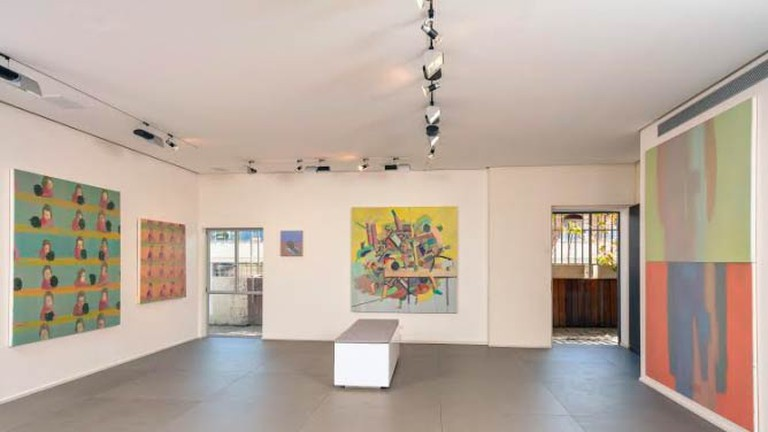 Feinberg Projects, Installation view of Alon Kedem Show by Ami Erlich