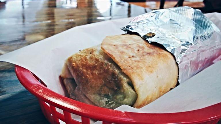 Carnitas Burrito Super Dorado