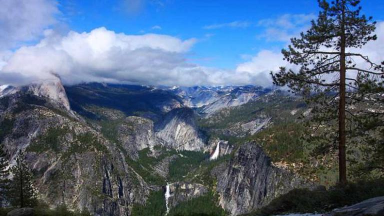 Little Yosemite Valley in Yosemite National Park