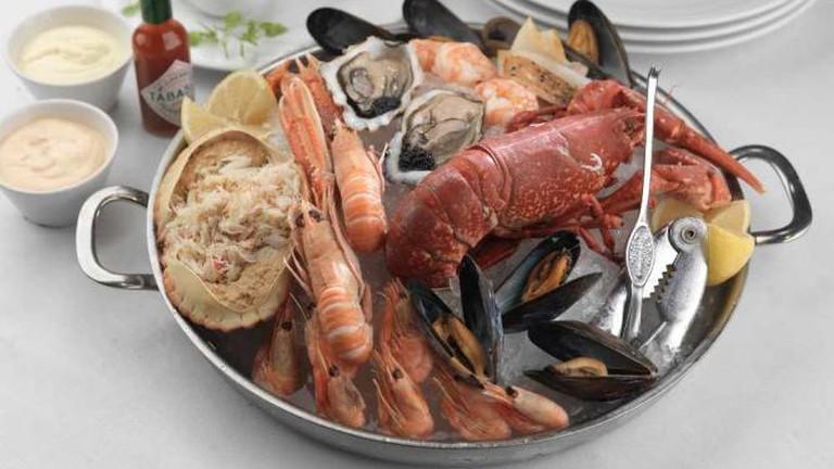Assiette of Shellfish