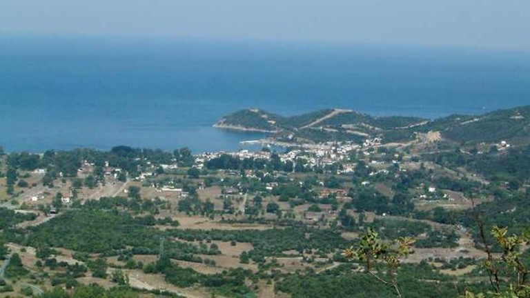 Panoramic view of the Municipality Stagira-Akanthos