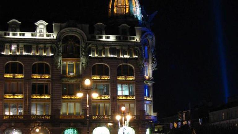 The Singer House on Nevsky Prospect