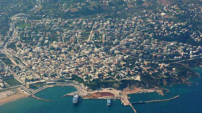 Aerial view of Attica