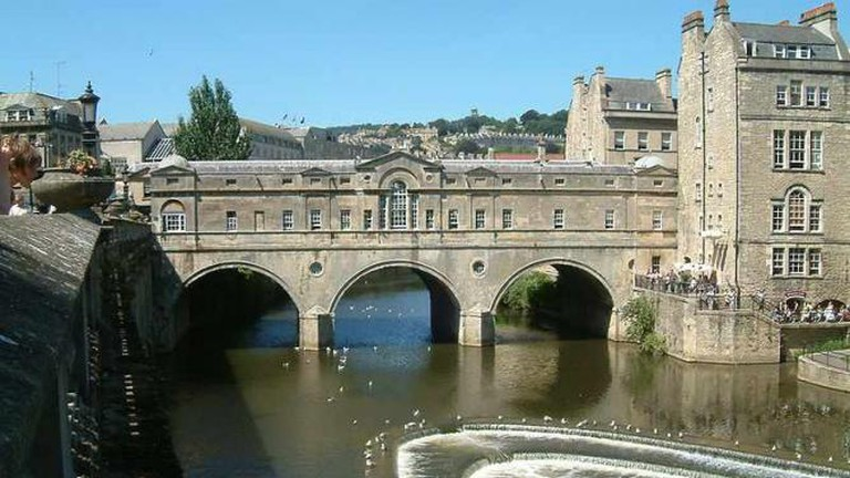 Pulteney Bridge and the Riverside Café