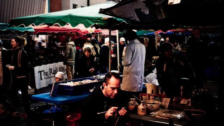 A market in Dublin