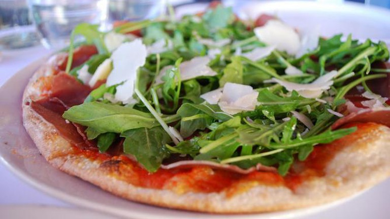 Pizza at Pompei's