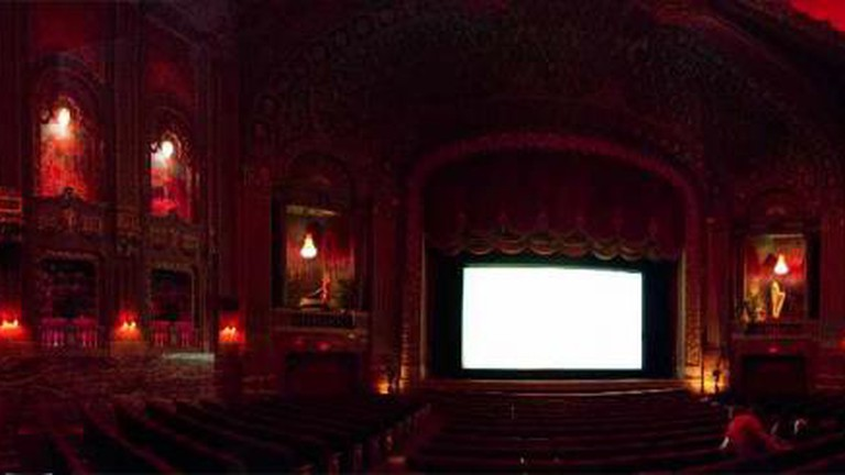Inside the Byrd Theatre