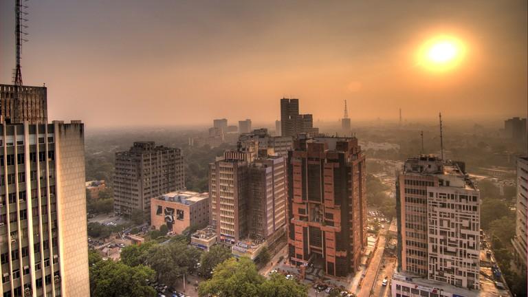 Connaught Place in Delhi