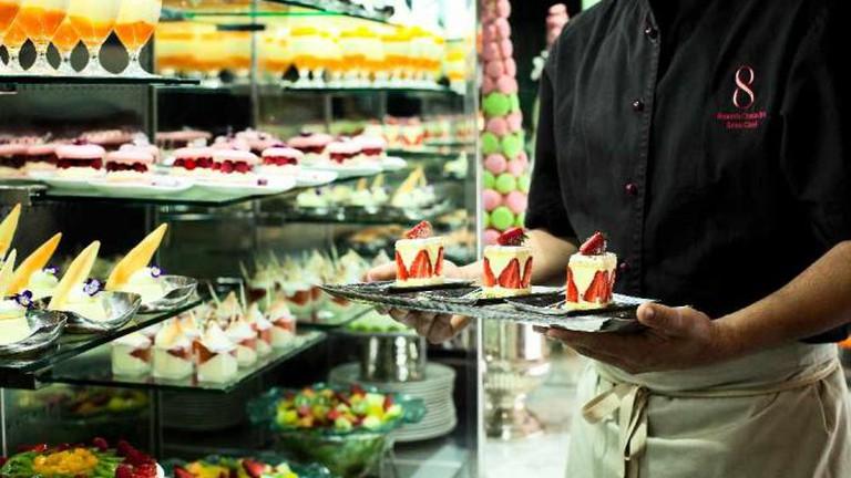 Desserts at Eight