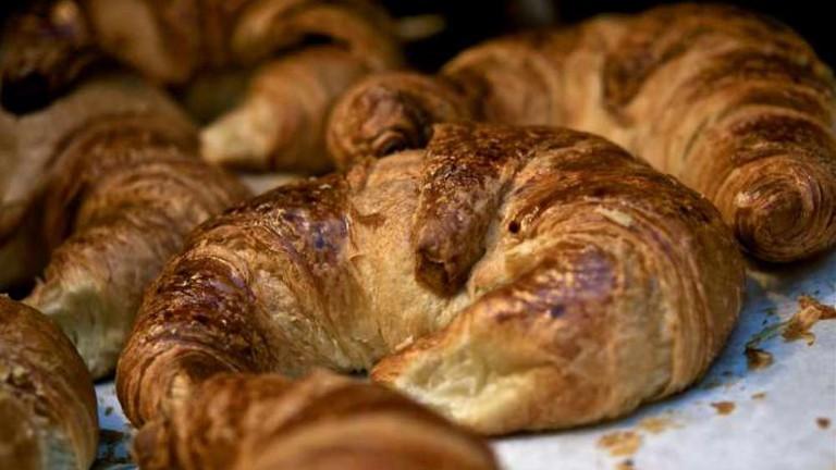 Warm, freshly baked breakfast pastries