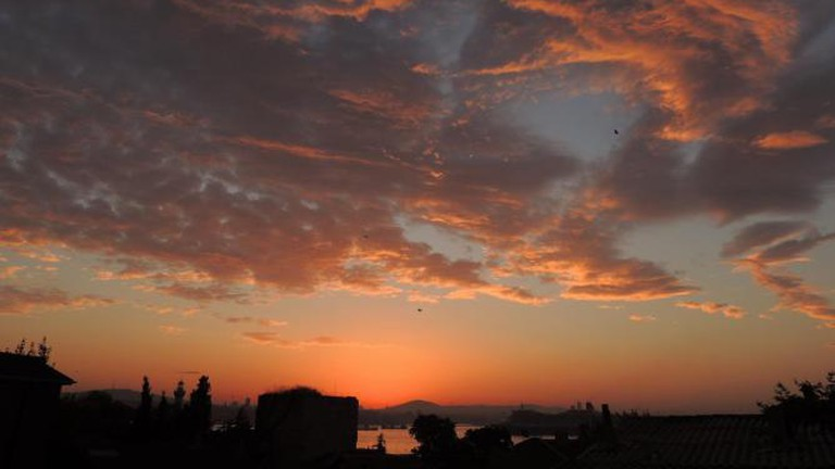 Istanbul sunrise from the World Heritage Hotel
