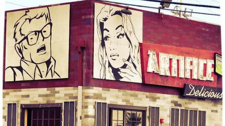 Artifice in Las Vegas Arts District