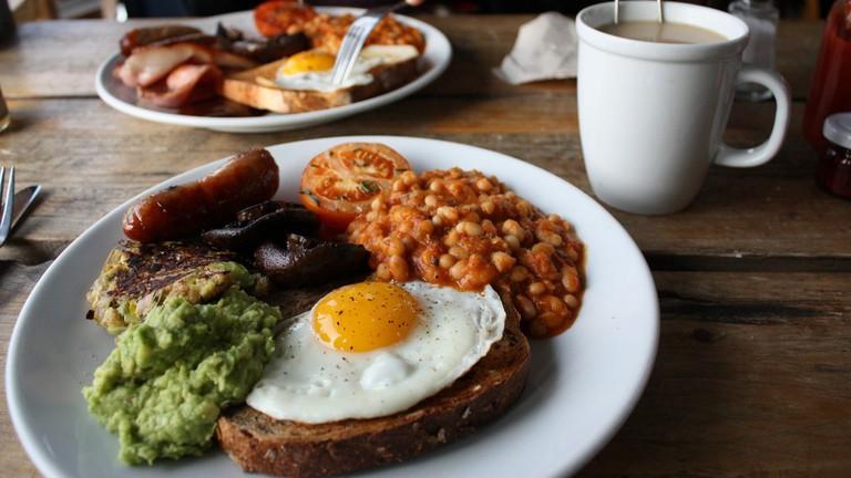 English Breakfast, Pavilion Cafe