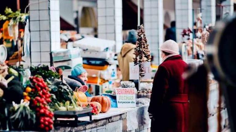 센노이 시장, St Petersburg