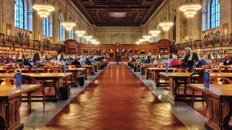 One example of a stunning old library