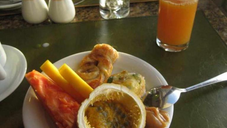 Breakfast at Mogador Restaurant