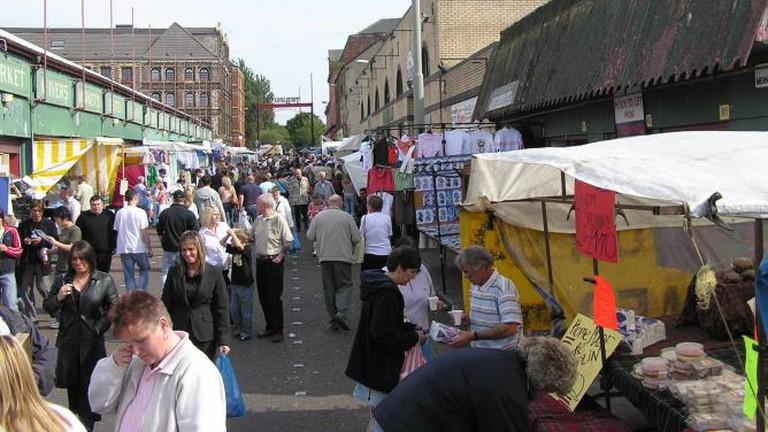 The Barras Market
